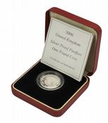2006 Silver Proof Piedfort One Pound